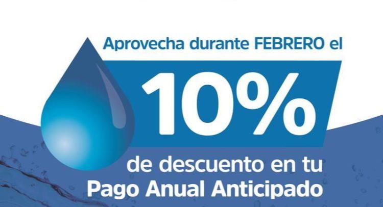 Pago anual anticipado Febrero/2019